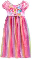 My Little Pony Girls' or Little Girls' Rainbow Nightgown