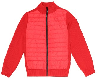 Canada Goose Kids Hybridge wool and nylon down jacket