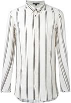Ann Demeulemeester striped oversized shirt