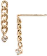 Chicco Zoe Small Curb Chain Earrings