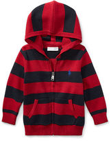 Ralph Lauren Boy Striped Hooded Sweater