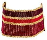 Carolina Bucci 18K Woven Silk Bracelet