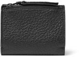 Maison Margiela Full-grain Leather Cardholder - Black
