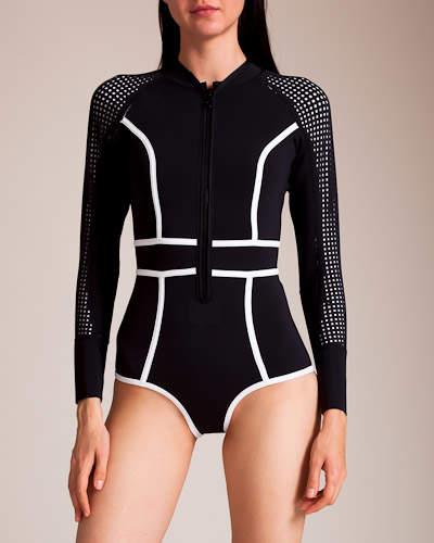 Manuel Canovas Duskii Swimwear Waimea Bay Long Sleeve Swimsuit