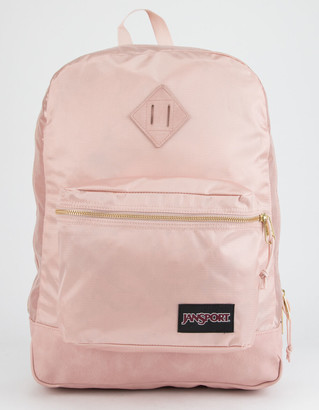 JanSport Super FX Rose Smoke & Gold Backpack