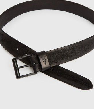 AllSaints Kelsoan Leather Belt