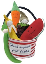 Under the Nile Infant 6-Piece Stuffed Fruit & Vegetable Tote