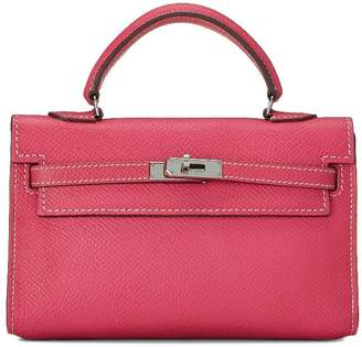 Hermes Rose Tyrien Epsom Kelly Tiny