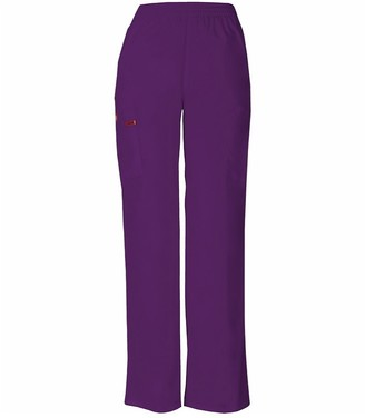 Dickies Women's Signature Elastic Waist Scrubs Pant - Purple - S