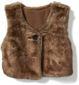 Old Navy Cropped Faux-Fur Vest for Baby