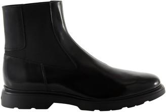 Hogan Polished Ankle Boots