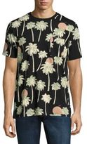 Wesc Maxwell Hawaii Palm Tree-Printed Tee