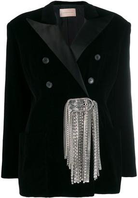 Christopher Kane Embellished Blazer Jacket