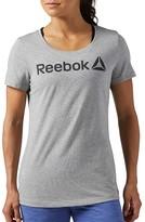 Reebok Printed Short-Sleeved Crew Neck T-Shirt