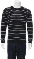 Band Of Outsiders Silk Striped Sweater