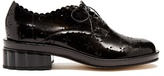 Simone Rocha Broderie-anglaise cut-out leather brogues