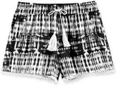 Imperial Star Crinkle Tassel Shorts, Big Girls (7-16)