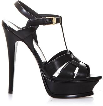 Saint Laurent 140mm Tribute Leather Sandals