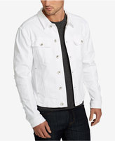 William Rast Men's White Denim Jacket