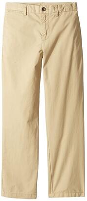 Polo Ralph Lauren Kids Slim Fit Cotton Chino Pants (Little Kids) (Classic Khaki) Boy's Casual Pants