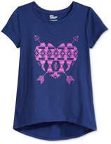 Epic Threads Heart-Print T-Shirt, Big Girls, Created for Macy's