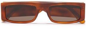 Andy Wolf Hume Square-frame Tortoiseshell Acetate Sunglasses