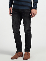 Denham Razor Ab1y Jeans, Washed Black