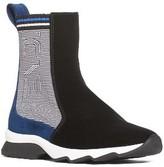 Fendi Women's Stripy High Top Sock Sneaker
