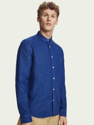 Scotch & Soda Long sleeve 100% linen shirt | Men