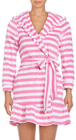 Betsey Johnson Vintage Striped Terry Cloth Robe