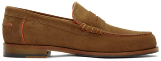 Paul Smith Brown Suede Teddy Loafers