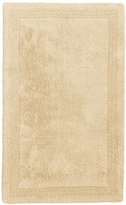 Pinzon Luxury Reversible Cotton Bath Mat - 21 x 34 inch, Ivory