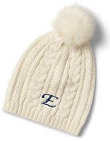 Classic Women's Fine Gauge Cable Hat-Cobalt