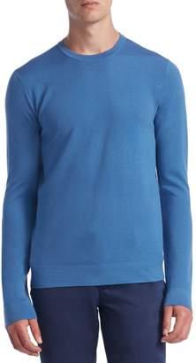 Saks Fifth Avenue Tech Merino Wool Crewneck Sweater