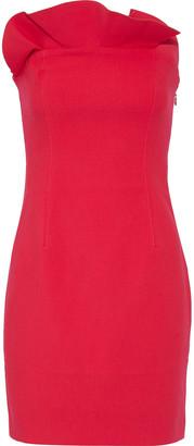 Cinq à Sept Marcy Strapless Ruffle-trimmed Cady Mini Dress