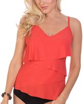 Magicsuit Orange Chloe Tankini Top