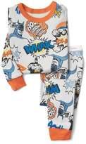babyGap   DC Batman comic sleep set