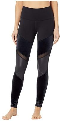 Alo High-Waist Luxe Shelia Leggings (Black) Women's Casual Pants