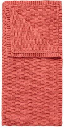 Seed Heritage Textured Knitted Blanket