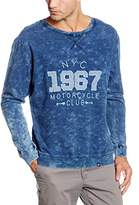 Joe Browns Men's Washed to Perfection Crew Top Sweatshirt,Large (Manufacturer Size:(42/44)