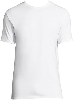 Calvin Klein Underwear 2-Pack Classic-Fit Cotton Stretch Crewneck Tees