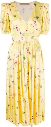 Andamane Cassandra floral-print midi dress