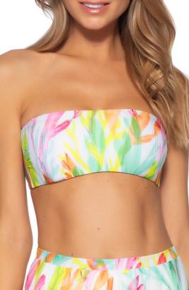 Becca Coral Reef Bandeau Bikini Top