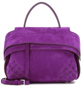 Tod's Wave Micro Suede Tote