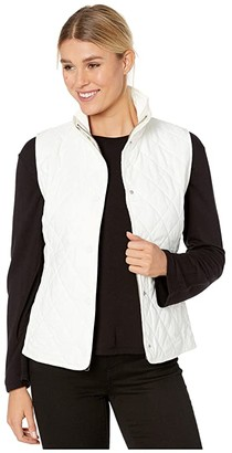 Vineyard Vines Quilted Vest (Marshmallow) Women's Vest