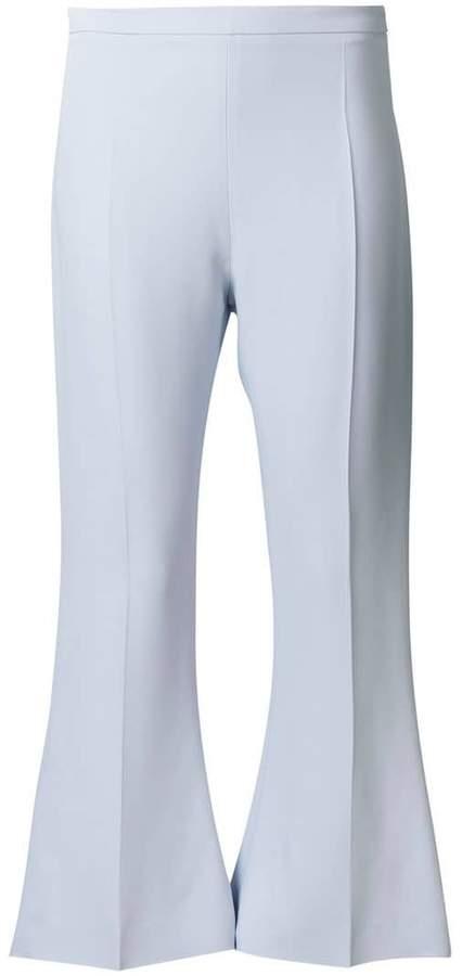 Antonio Berardi cropped flared trousers