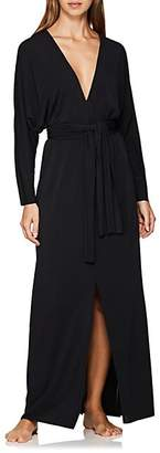 Eres Women's Chanceuse Jersey Belted Caftan - Black