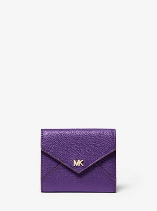 MICHAEL Michael Kors Medium Pebbled Leather Envelope Wallet