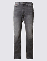 Blue Harbour Regular Fit Washed Stretch Jeans