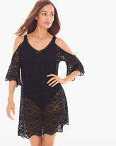 Chico's Lace Swim Cover-up Tunic